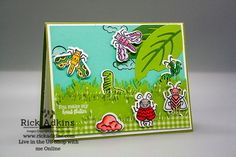You Make My Head Flutter Wiggle Worm You Make Me, How To Make, Stampin Up Catalog, Ink Pads, Stamping Up, Kids Cards, Thank You Gifts, Cute Cards, Worms