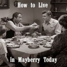 """Truth Without Excuse: 5 Keys - How to Live in Mayberry Today (3/5) """"Seek Peace With Others"""""""