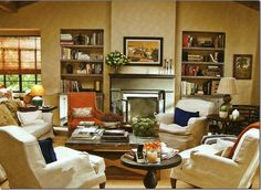 Living Room from It's Complicated. I'd love to chill with Meryl in this room!