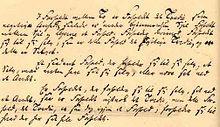 Kierkegaard's manuscript of The Sickness Unto Death