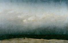 Blog dos Librianos: Librianos são melancólicos.  Der Mönch am Meer, Ca...