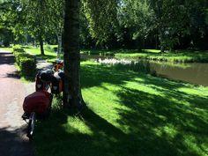 """#KultTrip Nr. 38: """"Zuiderzeeroute"""" via @sufloese - eine famose Radltour durch beeindruckende Landschaft und Kultur mit feinen Schlössern oder Museen. 4.8.16 Golf Courses, Summer Time, Netherlands, Culture, Landscape"""