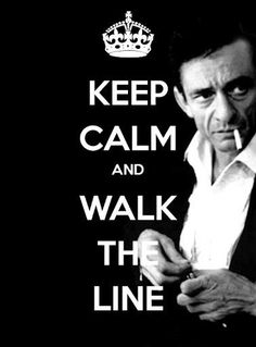 "I don't usually pin ""keep calm"" things, but I always make exceptions for Johnny Cash."