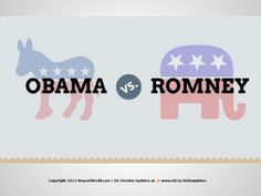 obama-or-romney-an-infographic-pdf by Maps ofWorld via Slideshare
