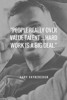 Advice from Gary V. Hard work is a big deal.http://www.skullsmpclinic.com