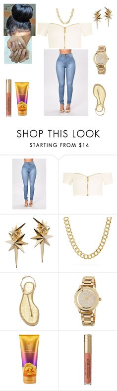 """The Race- Tay- K"" by mirah123 ❤ liked on Polyvore featuring River Island, Ludevine, Coach, René Caovilla, MICHAEL Michael Kors, Victoria's Secret and Too Faced Cosmetics"
