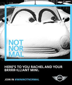 Here's to this genius MINI creation. Join in #MININOTNORMAL
