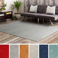 Hand Loomed Oaks Wool Rug 8 X 10