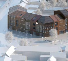 117 Housing Units by LAN Architecture   Dezeen