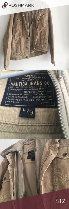 Nautica corduroy jacket Corduroy jacket with hoodie Nautica Jackets & Coats