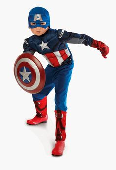 ab2fd6bf19c The Avengers Captain America Classic Muscle Chest Child Costume 802407