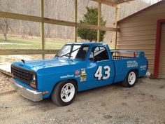 FOR TRADE 1984 dodge Richard Petty clone for trade or sale - Other Cars & Vehicles For Sale Pickup Trucks, Old Dodge Trucks, Dodge Pickup, Lowered Trucks, Ram Trucks, Cool Trucks, Drift Truck, Muscle Truck, Dodge Power Wagon