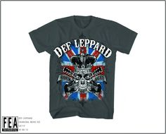 "#Def Leppard"" Rock of Ages "" T-Shirts - Madcap Music and More.com    #Licensed $15.95"