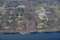Site preparation for the LPG gas storage depot along Seneca Lake near Watkins Glen, a looming local and regional nightmare. Photo by Bill Hecht