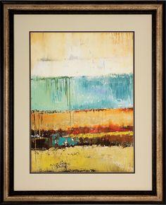 Rain I Framed Painting Print
