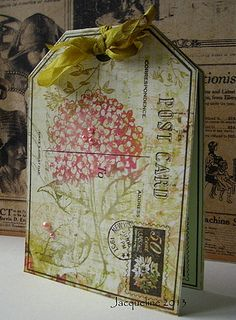 Postcard Card by Jacqueline.fr, via Flickr