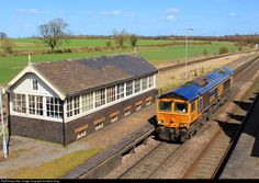 RailPictures.Net Photo: 66744 GBRailfreight GM Class 66 at Brocklesby Junction, Lincolnshire, United Kingdom by Jonathan King