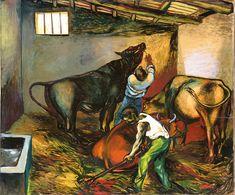Renato Guttuso: La Stalla (1951)