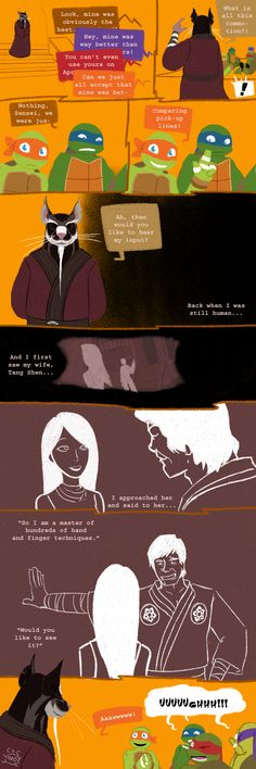 Pick-Up+Lines+pt.10+by+ChanceofClouds.deviantart.com+on+@DeviantArt Haha xD Mikey. I didn't get it at first either