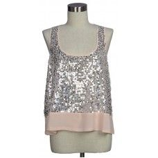 love this sequin tank!