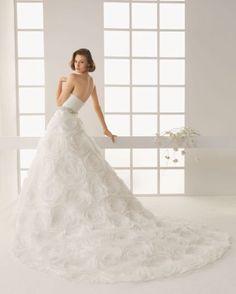 vestidos de novia con rosas - Buscar con Google