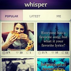 #Whisper #Mobileapp Going Crazy On College Campuses, Just Raised $3 Million #amyxmckinsey