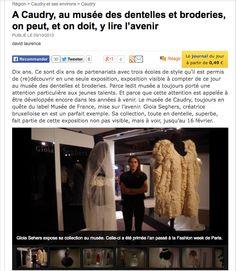 La voix du Nord. http://www.lavoixdunord.fr/region/a-caudry-au-musee-des-dentelles-et-broderies-on-peut-et-ia14b45240n1593104
