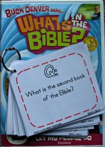 Teaching with What's in the Bible? What's in the Bible flashcards