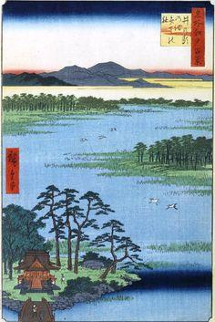 広重の世界 - Ukiyoe by HIroshige