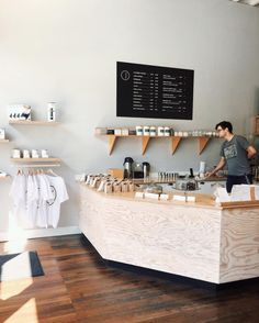 Elm Coffee Roasters,| Seattle, Washington. Minimalist perfection. #cafe…