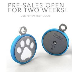 Play-tag is wearable tech tag for your dog. Let's you know if the they have left the boundary you set via your phone. Easy way to keep track while camping. Might put a label on it with out campsite.