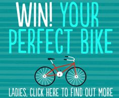 I already have a bike but I would love to win a 'Dutch' style bike which is (presumably) more like what I used to ride in Belgium growing up.