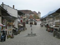 Gruyere Switzerland.  The absolute best cheese and chocolate I've ever had in the same place.