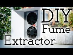 Safety first! How to make a solder fume extractor! :