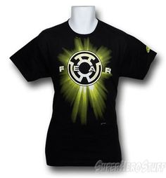 Green Lantern Yellow Fear Symbol T-Shirt