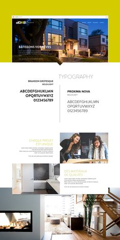 DG3A Architect Re-design website on Behance