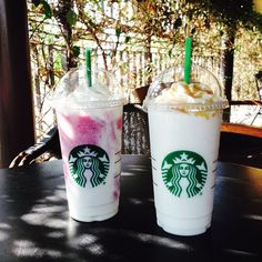eduardospl96: Berry Yogurt & Vanilla Cream Frappuccino (at Starbucks Mexico) For the world travelers, there may be exciting new kinds of Frappuccino to discover!