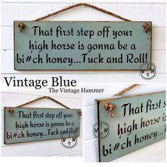"Wipe Yo/' Feet Honey Chil/'e 4/""x6/"" Wood Saying Sign Decor"