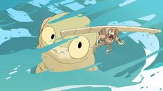 """""""Basilisk"""" is a short animated movie created by Sheridan College student Mami Uebayashi """"Ami"""" Thompson.  Synopsis 
