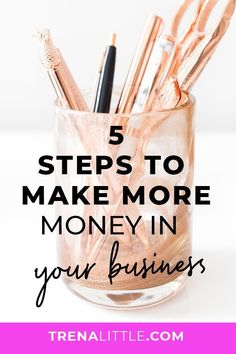Tired of not seeing money flow into your business? Today I'm sharing 5 ways you can make more money in your business! Tired of not seeing money flow into your business? Today I'm sharing 5 ways you can make more money in your business! Make More Money, Make Money Blogging, Make Money Online, Extra Money, Small Business Marketing, Business Tips, Online Business, Media Marketing, Online Entrepreneur