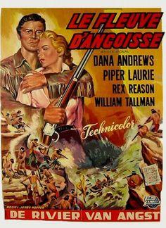 Western Movies - Le Fleuve de la dernière chance (Smoke Signal) 1955 - Documents et Affiches