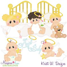 Little Blessings SVG Cutting Files Includes Clipart