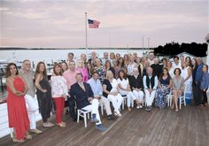 """It was wonderful to see our associates who work so hard take the time to simply enjoy each other's company,"" said CEO Judi Desiderio​ of the annual summer party held again this year at East Hampton Point​.   #greatgroup #realestateagents #hamptonsrealestate #northforkrealestate"