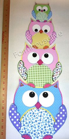 owl pictures for kids | Wallpaper Cutouts Wall Stickers Decals - Farmhousefive Art for Kids