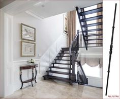 "In York edition @OurHomesMag, ""Classic Style"" showcases a gorgeous home with #timeless design from furnishings to colour choices. The staircase that is shown on p. 26 utilizes balusters that we carry as part of our vast collection of architectural components. These popular French balusters (PSL115TPS), which we offer as part of our Styles Pre-finished Balusters line, complement a home with a classic look that will never go out of style. #euroarchitecturalcomponents #euroeac…"