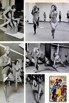 1975, Frida Payne (soul & R&B singer) in the September issue of Ebony magazine