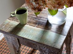 How to Transform Furniture With Creative Paint Applications : Home_improvement : DIY