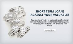 Secure a short term #cash #loan against loose #diamonds and precious coloured #gemstones with #Pawnbrokers Today. Contact us 08000141544 or visit our website at http://www.pawnbrokerstoday.com/