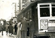 Rare unseen downtown San Francisco photos show city life in the 1930s and 1940s - SFGate The Market Street line asks San Francisco to vote 'no.' Such voters will continue the folly of men and women running to catch a car, while Municipal cars bear down upon them. YES on Proposition No. 1 will build subways for a metropolitan San Francisco. November 1, 1937