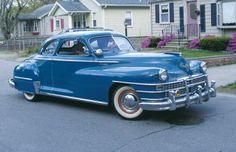 1947  | Classic 1947 Chrysler Windsor 2-Door Club Coupe